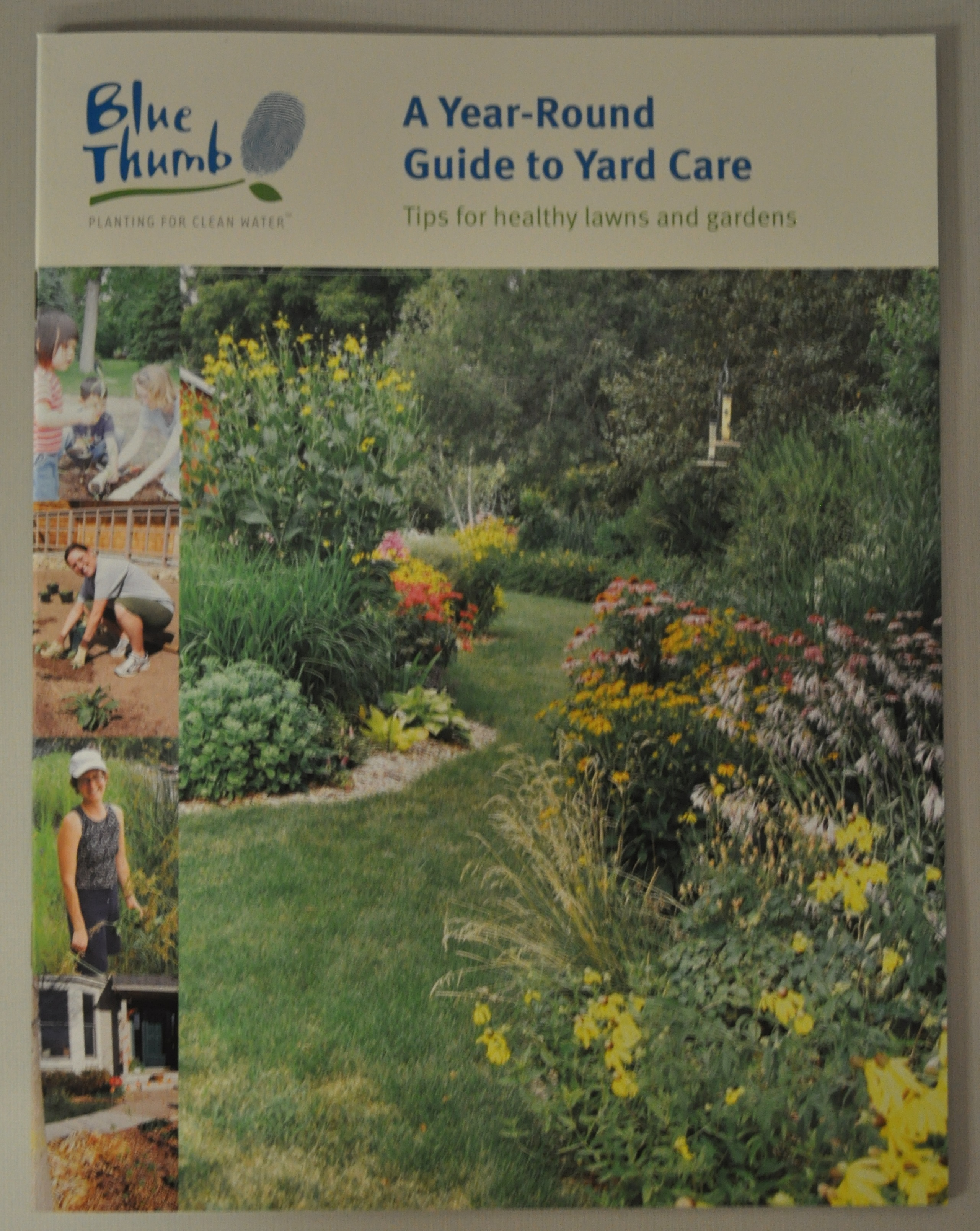 Blue Thumb yard care guide