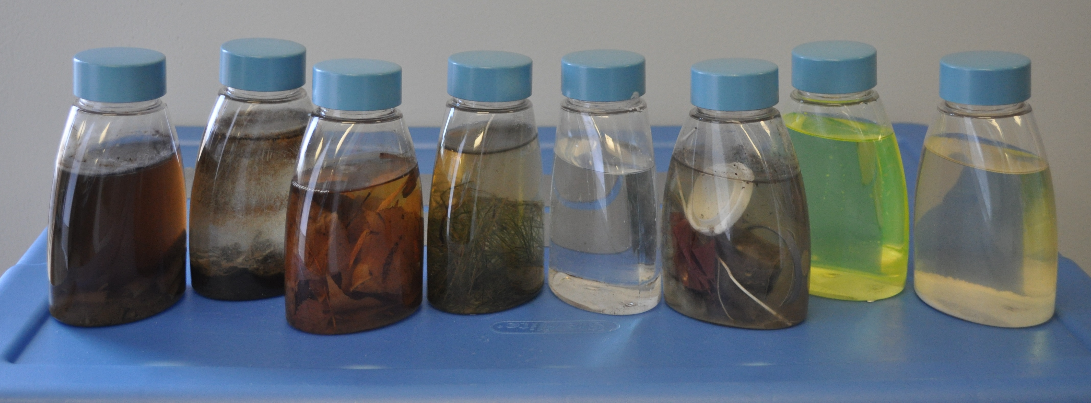 pollutant bottles