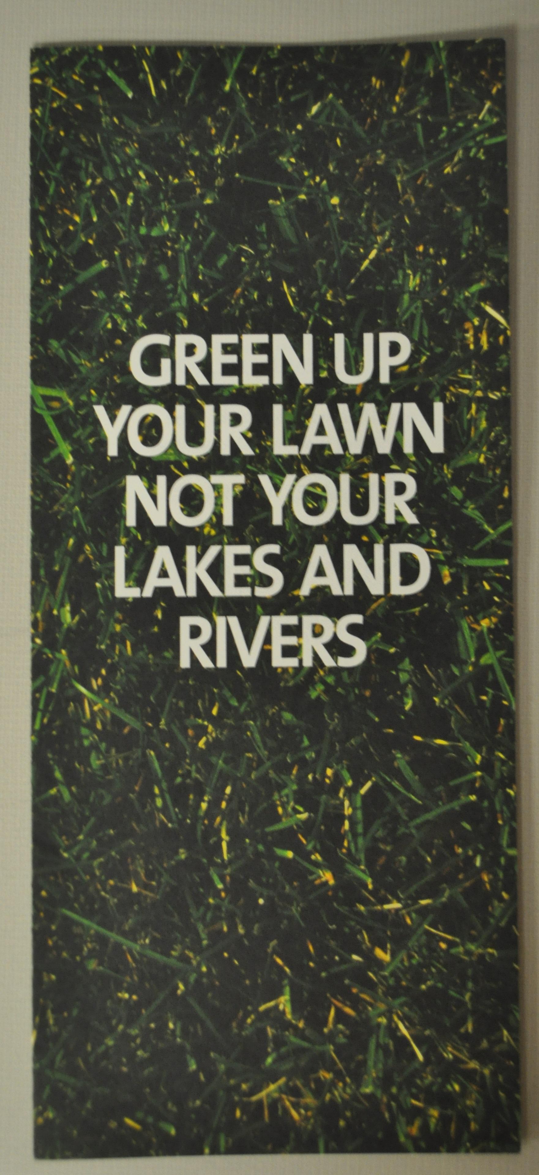 green up your lawn brochure