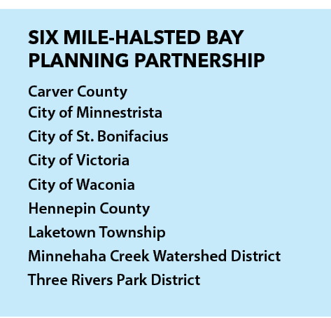Six Mile Halsted Bay Planning Partnership list
