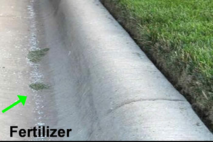 Water Pollution Fertilizer