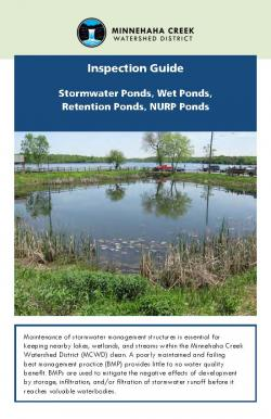 Cover of Stormwater Ponds Inspection Guide
