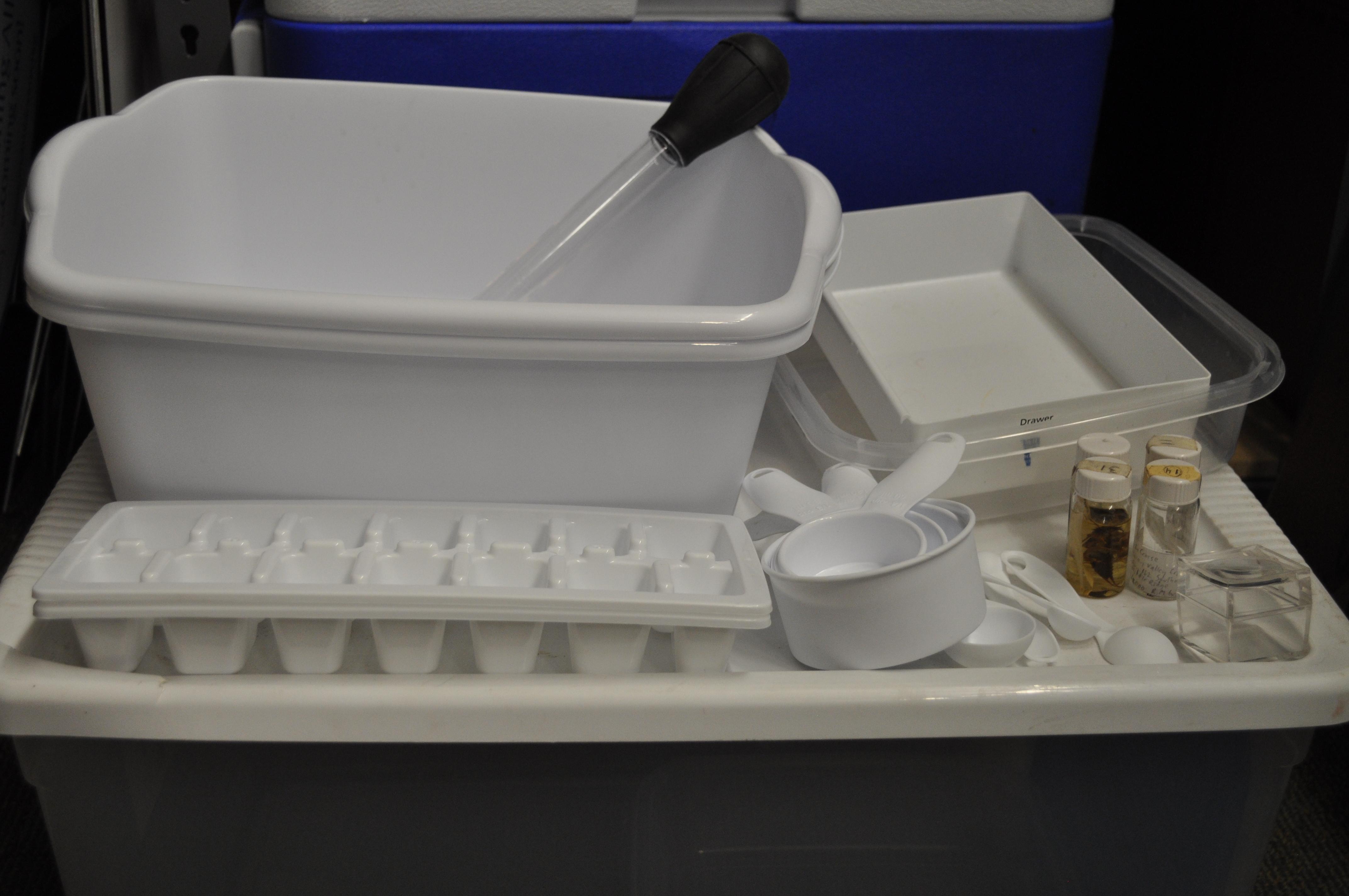 macroinvertebrate sampling kit