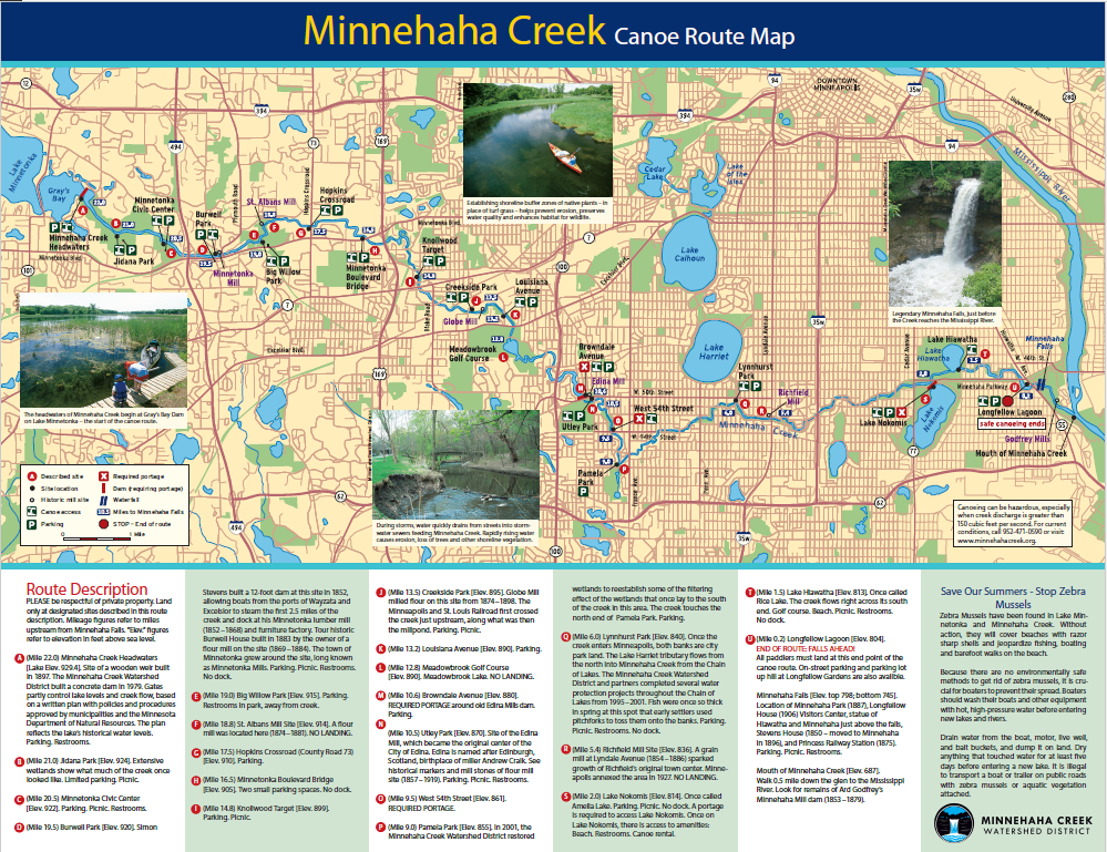 creek map