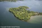 Aerial of Big Island, Erdahl Aerial Photos