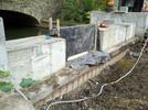 Construction of the weir