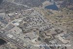 Aerial of remeandered creek, Erdahl Aerial Photos