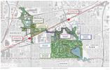 Greenway corridor map