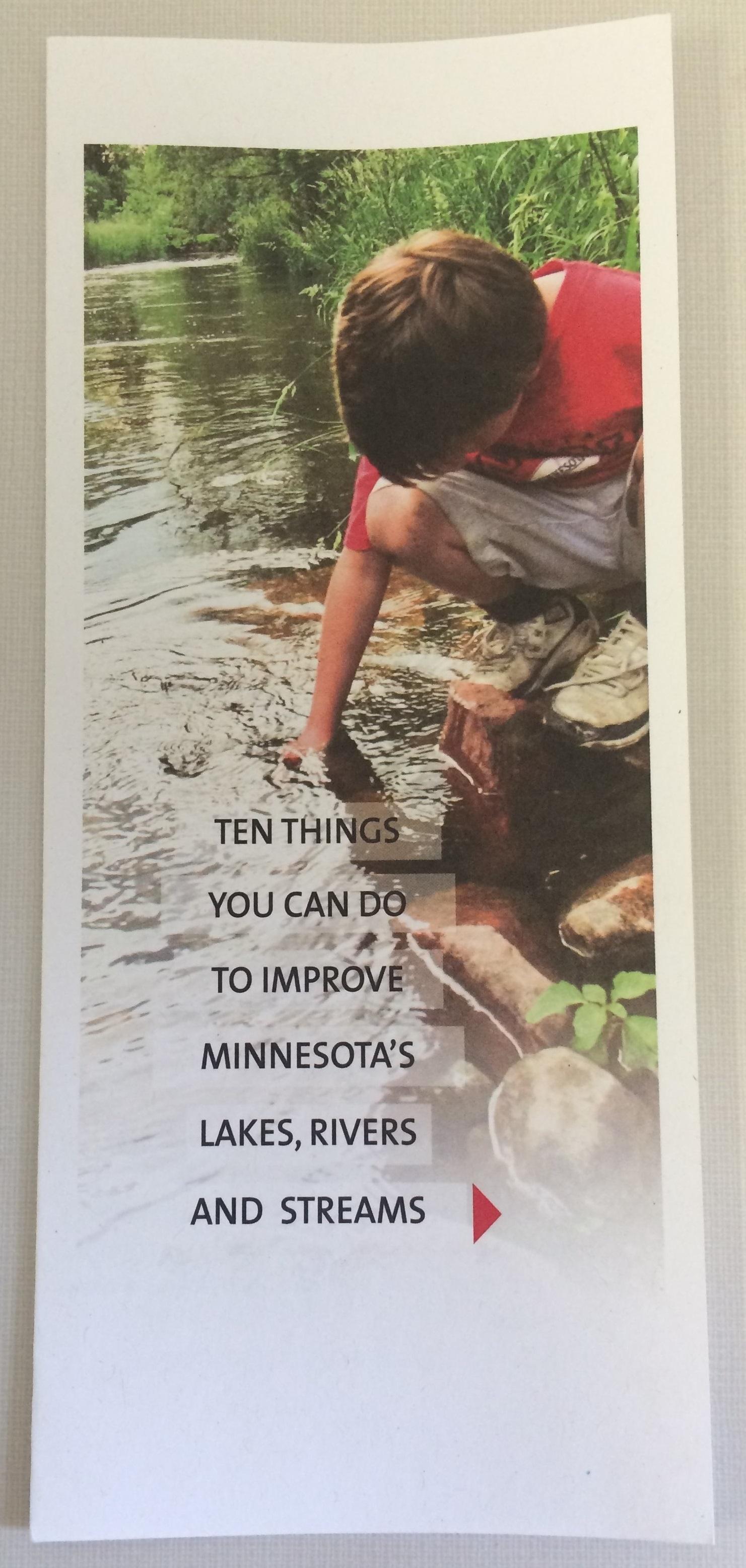 ten things you can do brochure